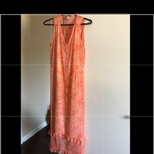 Reduced Forever 21 floral maxi dress